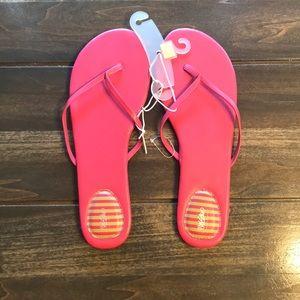 Mossimo Women's Pink Flip Flops